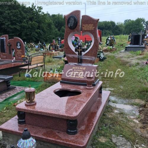 Одинарний пам'ятник у Калуші #26