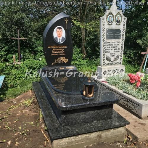 Одинарний пам'ятник у Братишеві #28
