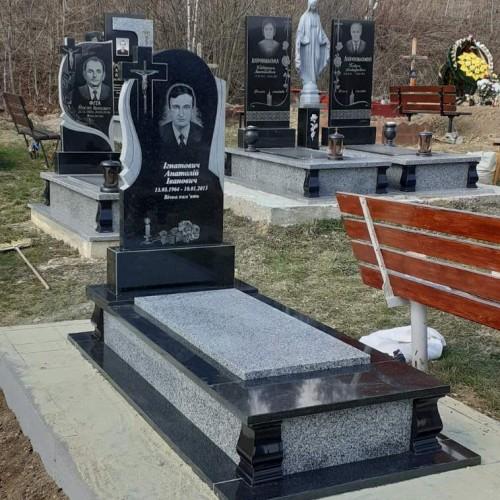 Одинарний пам'ятник у Сколе #1