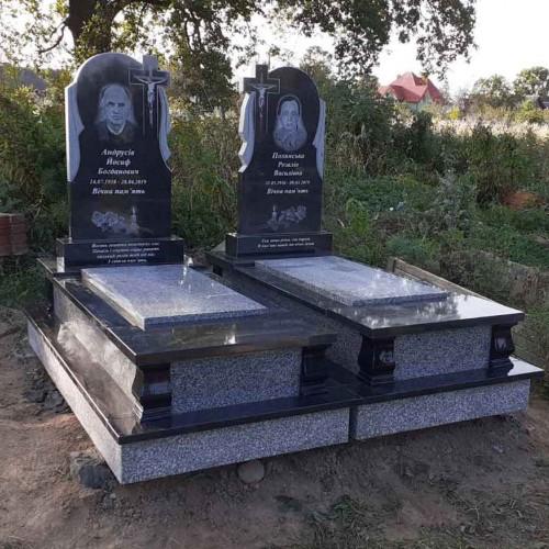 Пам'ятники двійні ціна 30000грн #34