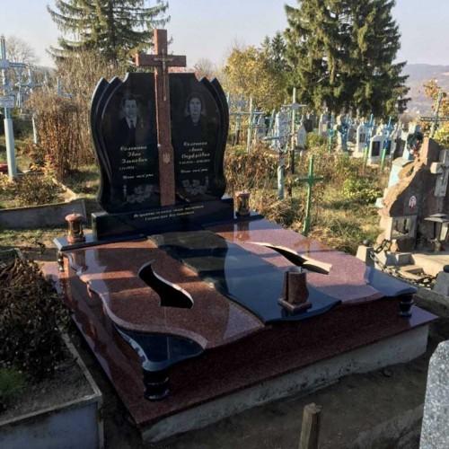 Пам'ятники двійні Двійний пам'ятник у Братишеві #33